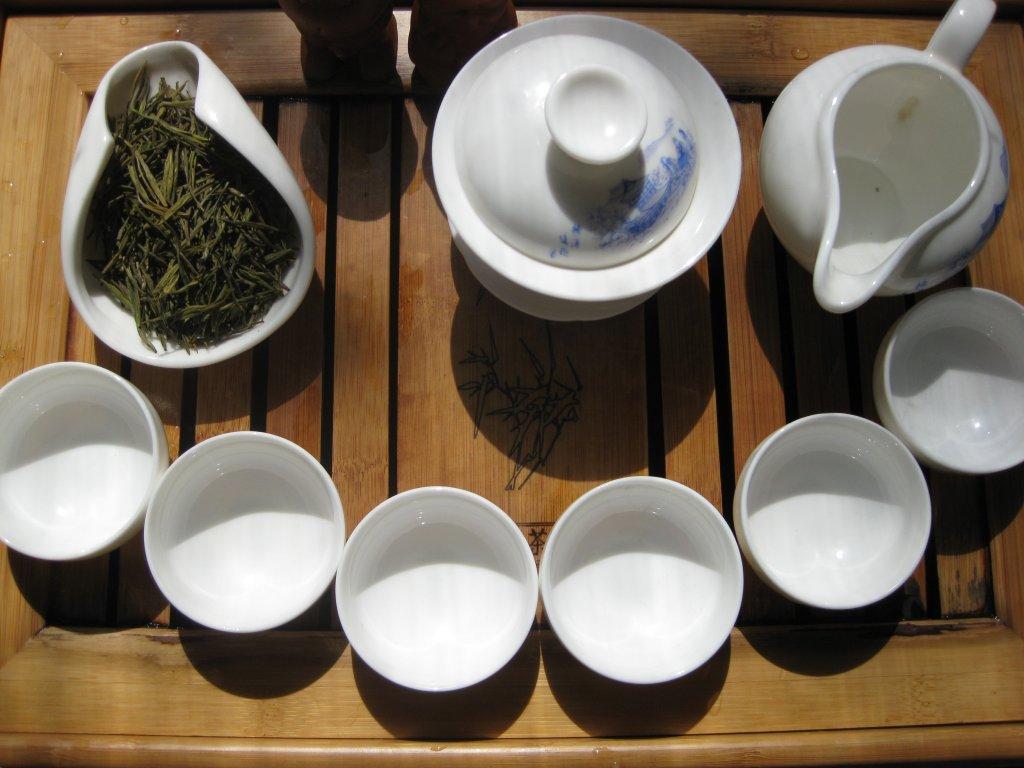 Аньцзи Байча. Белый или зеленый чай?