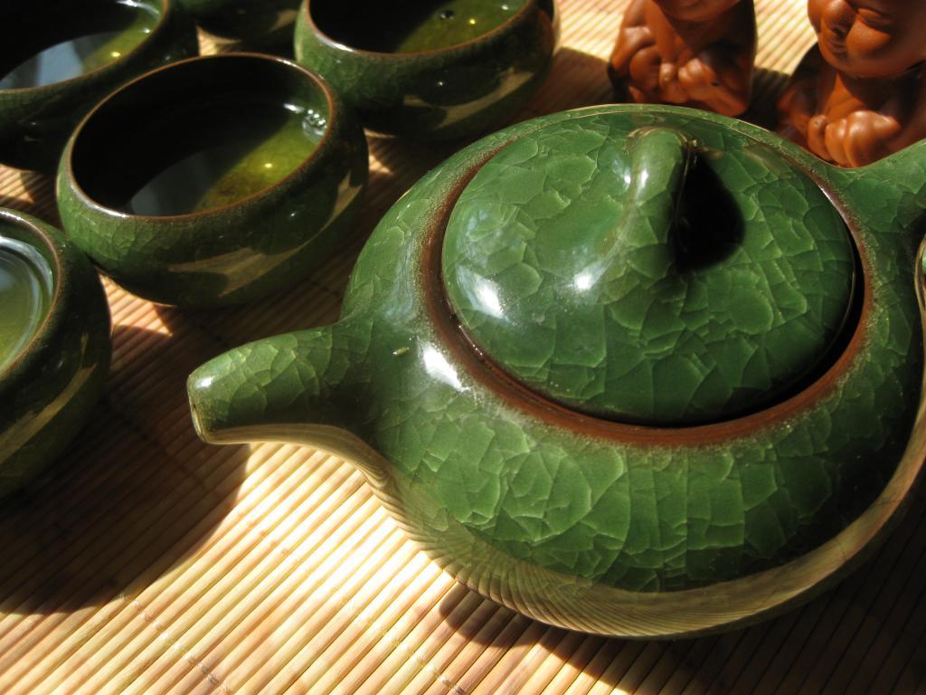 Генмайча. Японский чай с рисом